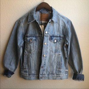 Levi's ex-boyfriend trucker denim jean jacket